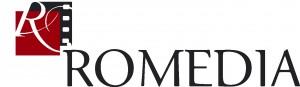 Romedia logo white(1)